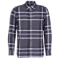 textil Hombre camisas manga larga Oxbow CAMPO Marino