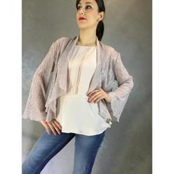textil Mujer Chaquetas Kocca Casaco JOE Rosa