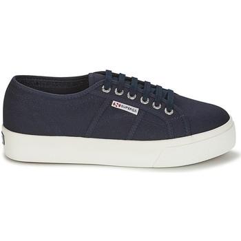 Zapatos Mujer Zapatillas bajas Superga COTU 2730 PLATAFORMA NAVY AZUL