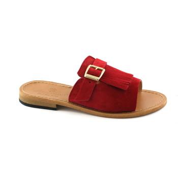Zapatos Mujer Zuecos (Mules) Antichi Romani ANT-E18-845-RO Rosso
