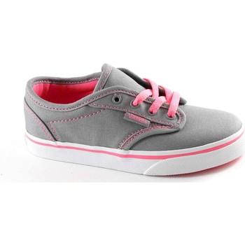Zapatos Niños Zapatillas bajas Vans VAN-E17-SEGATP-GP-1 Grigio