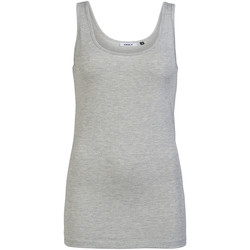textil Mujer Camisetas sin mangas Only 15101819 Grigio