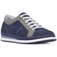 Zapatos Hombre Zapatillas bajas Igi&co NABOUK MORBIDO Blu