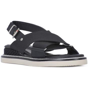 Zapatos Mujer Sandalias Tommy Hilfiger 990 SPORY STRECH Nero