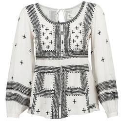 textil Mujer Tops / Blusas Stella Forest ANTONETA Crudo / Negro