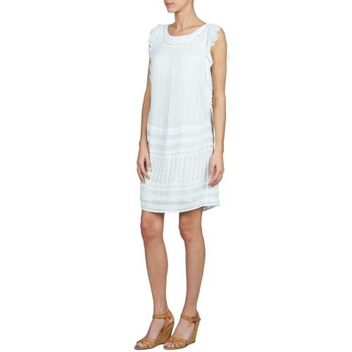 Forest Audrene Blanco Stella Cortos Textil Mujer Vestidos tsQdrhCxBo