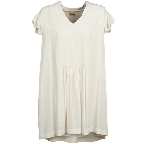 textil Mujer vestidos cortos Stella Forest BRIGIDE Crudo