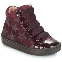 Zapatos Niña Zapatillas altas Acebo's MASSA Burdeo