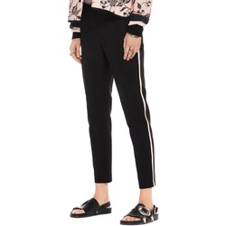textil Mujer Pantalones Maison Scotch TAILORED STRETCH PANTS WITH KNITTED Negro
