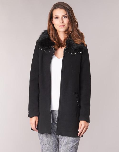 textil Mujer Abrigos Desigual COLLINE Negro