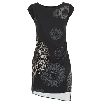 textil Mujer vestidos cortos Desigual SANDRINI Negro