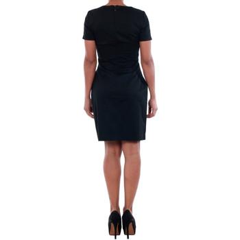 Vero Moda 10181717 VMMAYA SS O-NECK SHORT DRESS NOOS BLACK Negro