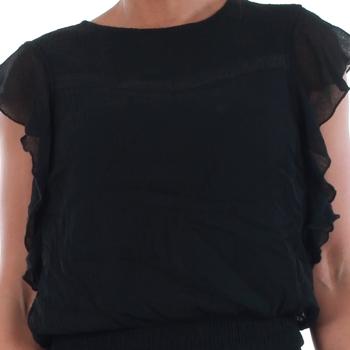 Vero Moda 10193957 VMARUBA S/S SHORT DRESS SB8 BLACK Negro