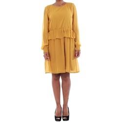 textil Mujer Vestidos Vero Moda 10196226 VMKIM L S SHORT DRESS O17 HARVEST  GOLD Amarillo 2cd38dcfab035