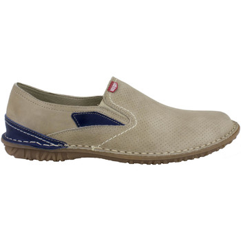 Zapatos Hombre Slip on On Foot - Manoletina Pala Picada Taupe Marrón