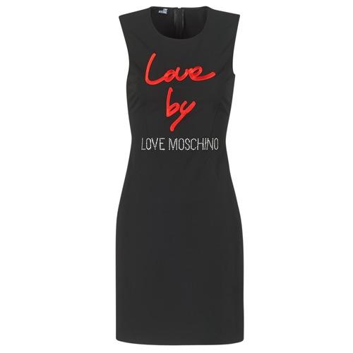 textil Mujer Vestidos cortos Love Moschino CARININA Negro