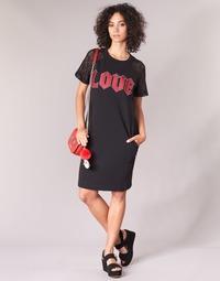 textil Mujer vestidos cortos Love Moschino BLAFA Negro