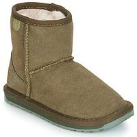 Zapatos Niña Botas de caña baja EMU WALLABY MINI Kaki