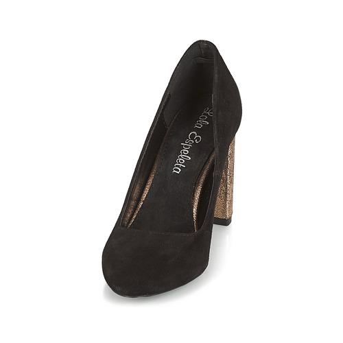 Espeleta Tacón Negro De Lola Zapatos Yby76fvg