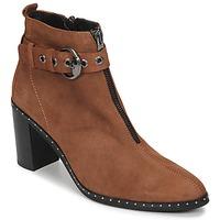 Zapatos Mujer Botines Philippe Morvan AXEL V4 CHEV VEL Camel