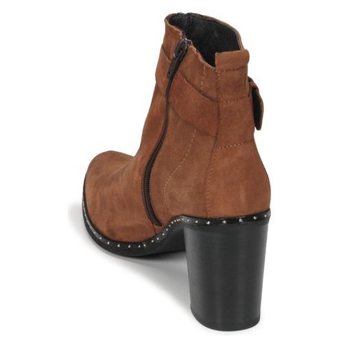 Axel V4 Vel Chev Botines Morvan Philippe Zapatos Camel Mujer 4RL35jAScq