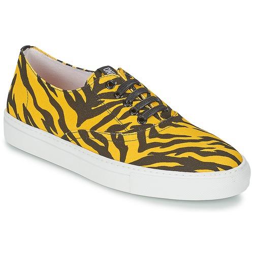 Zapatos Mujer Zapatillas bajas Moschino Cheap & CHIC LIBORIA Amarillo / Negro