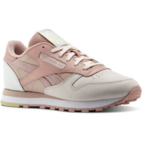 Zapatos Mujer Zapatillas bajas Reebok Classic Classic Leather PM Pink