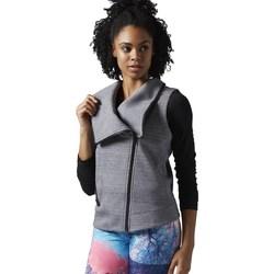 textil Mujer sudaderas Reebok Sport Lhs Quick Gris