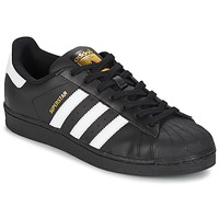 Zapatos Zapatillas bajas adidas Originals SUPERSTAR FOUNDATION Blanco / Negro