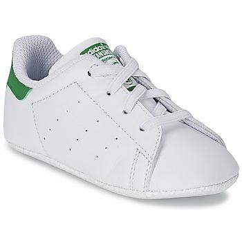 Zapatos Niños Zapatillas bajas adidas Originals STAN SMITH GIFTSET Blanco / Verde