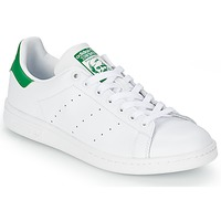 Zapatos Zapatillas bajas adidas Originals STAN SMITH Blanco / Verde