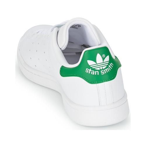 Zapatos Bajas Zapatillas Smith BlancoVerde Originals Stan Adidas iPuXOZk