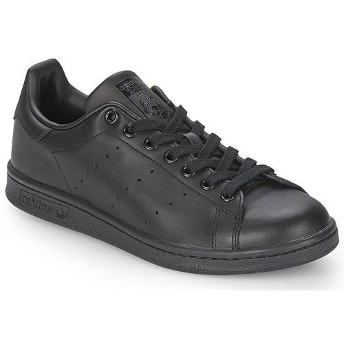 Zapatos especiales para hombres y mujeres adidas Originals STAN SMITH Negro