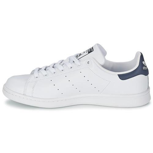 Adidas Smith Originals Stan Bajas Zapatos BlancoAzul Zapatillas E2HWD9I