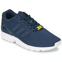 Zapatos Hombre Zapatillas bajas adidas Originals ZX FLUX Azul / Blanco