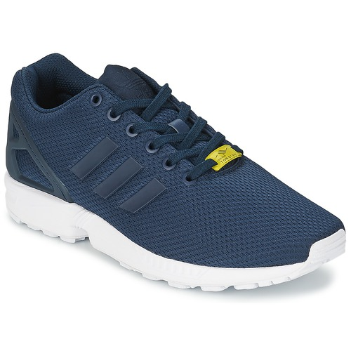 Zapatos especiales para hombres y mujeres adidas Originals ZX FLUX Azul / Blanco