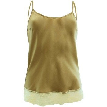 textil Mujer Tops / Blusas Rebelqueen E15136T1460 beige