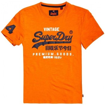 Superdry T-Shirt Premium Goods Duo PE18 Naranja