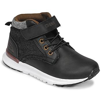 Zapatos Niño Zapatillas altas Kappa TELMO EV Negro