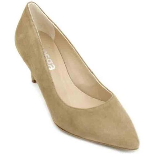 2c3d0b8af69 Zapatos Mujer Zapatos de tacón Calzados Vesga Estiletti 2413 Zapatos de  Vestir de Mujer rojo