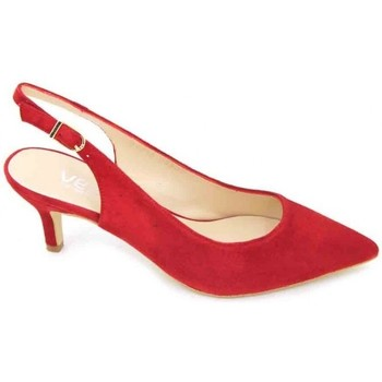 Zapatos Mujer Sandalias Estiletti 2345 Zapatos de Vestir de Mujer Rojo