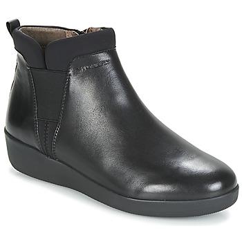 Zapatos Mujer Botas de caña baja Stonefly PASEO IV 5 NAPPA Negro