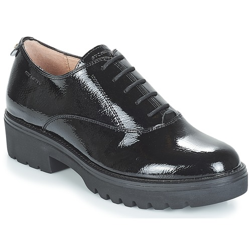 1 Zapatos Ii Mujer Perry Patent Stonefly Derbie Negro MSUpVGLzjq