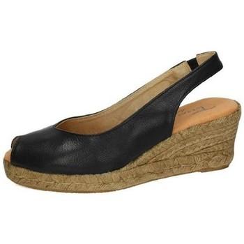 Zapatos Mujer Alpargatas Torres Alpargatas negras Negro