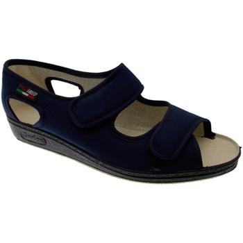 Zapatos Mujer Pantuflas Gaviga GA180bl blu