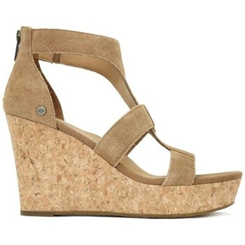 Zapatos Sandalias UGG WHITNEY Marrón