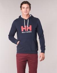 textil Hombre sudaderas Helly Hansen HH LOGO HOODIE Marino