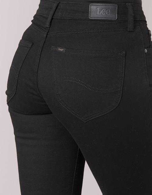 Rectos Mujer Lee Textil Straight Negro Marion Vaqueros jGqSzMpUVL