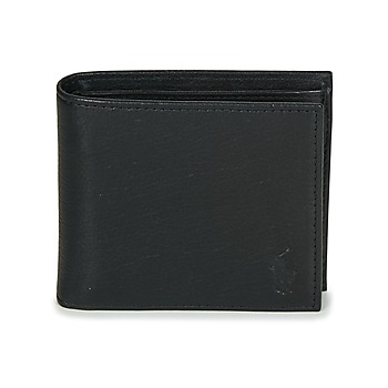 Bolsos Hombre Cartera Polo Ralph Lauren EU BILL W/ C-WALLET-SMOOTH LEATHER Negro