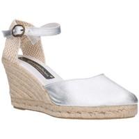 Zapatos Hombre Alpargatas Fernandez 682  7C    Plata (soleil) Mujer Plata Argenté
